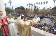 Foto: El Rey Castro-Baltasar no es tan negro...