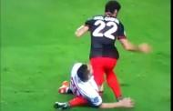 Foto: La escalofriante lesión de Raúl García