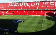 Foto: La nueva decoración del Estadio con la Europa League vía @javi_nemo