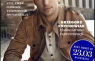 Foto: Krychowiak portada de una revista de moda
