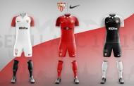 Foto: Recopilación de las posibles camisetas Nike del Sevilla para la próxima temporada