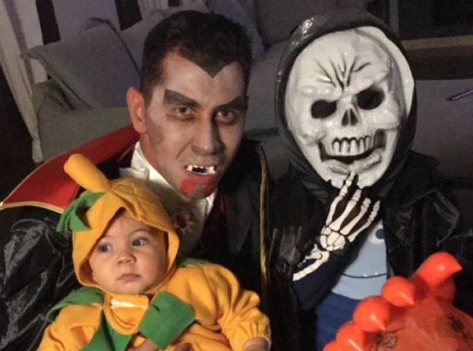 Foto: Ganso se disfrazó para Halloween