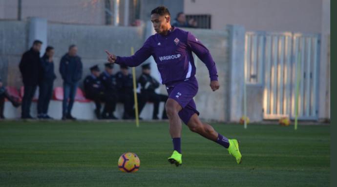 Muriel, 'hat-trick' y man of the match con la Fiorentina