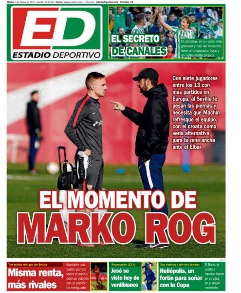 Portada ED - El momento de Marko Rog