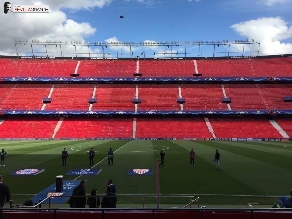 Foto: Montaje del Estadio con un tercer anillo, visto en ForoSevillaGrande