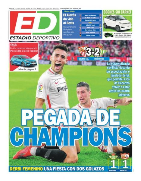 Portada ED - Pegada de Champions