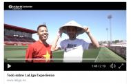 Vídeo: Jesús Navas y Vaclik se lo pasan en grande con 'LaLiga Experience'