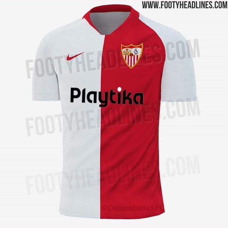 Foto: Se filtra la primera equipación del Sevilla FC 2019/20