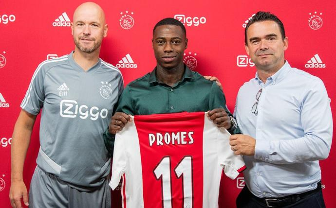 OFICIAL: Promes al Ajax por 15,7 millones