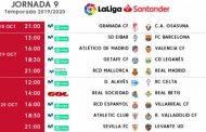 Foto: Horarios de la Jornada 9 con el Sevilla FC -Levante