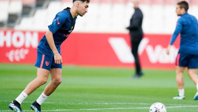 Una baja importante en el entrenamiento del Sevilla