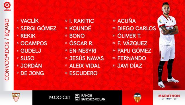 Lista con polémica de Lopetegui para el Valencia
