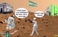 Foto: Los Béticos del Universo ya conocían que había agua en Marte