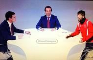 Foto: La visión sevillista del debate vía @CazonPalangana