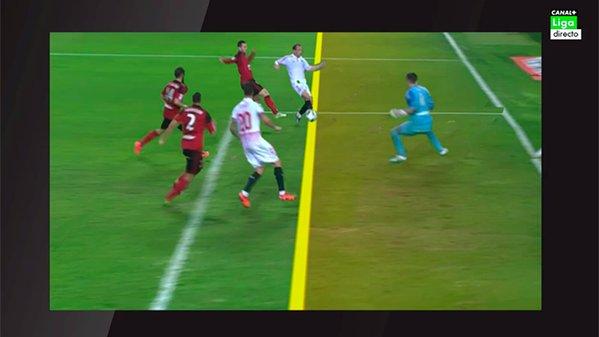 Foto no hay fuera de juego en los dos goles del sevilla for En fuera de juego online