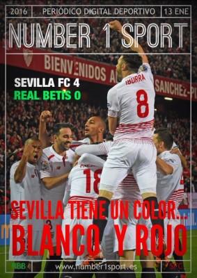 Portada N1Sport - Sevilla Tiene un color... Blanco y Rojo