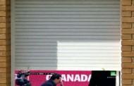 Foto: La persiana de Emery ayer en Granada vía @__tuan__
