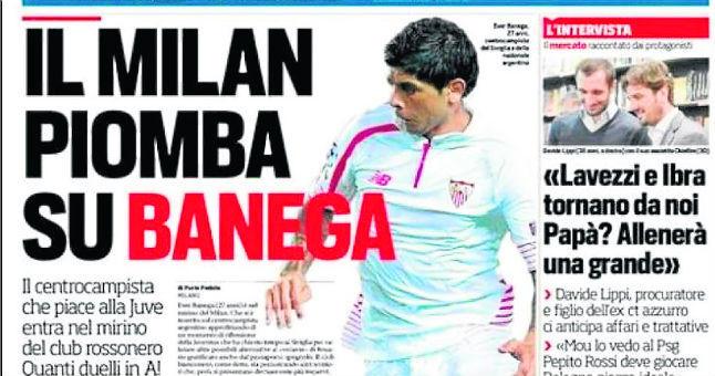 El Sevilla intentó el regreso de Banega