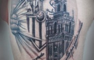 Foto: Impresionante tatuaje del Sevilla FC, ¿te atreves?