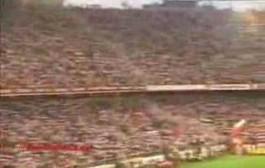 Vídeo: 10 Años de la espectacular bufandada del Sevilla FC Shalke04