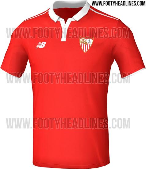 segunda equipacion Sevilla FC online