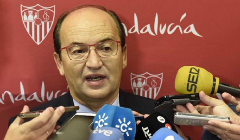 """Castro: """"Trabajamos en la ya próxima e ilusionante temporada del Sevilla FC"""""""