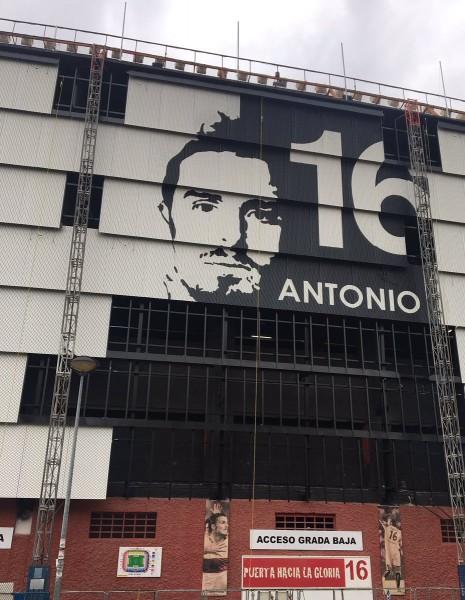 Foto: Sigue avanzando la silueta de Puerta en el Estadio, vía @alfonsoaimsur