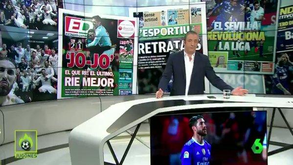 Vídeo: Las redes se mofan de Sergio Ramos después de su autogol