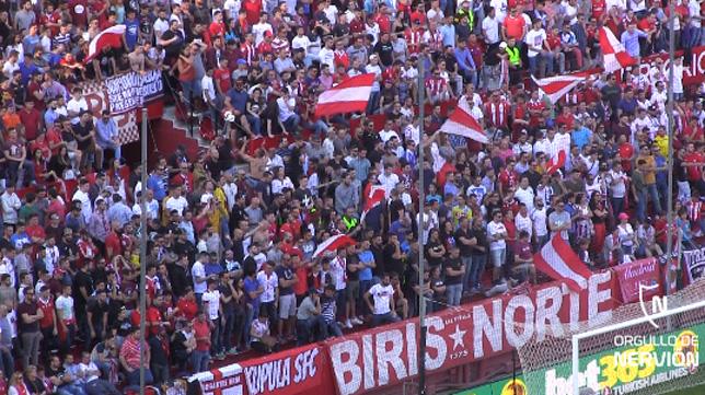34.002 € de multa por los incidentes del Atleti-Madrid y 30.000 al Sevilla por la pancarta Biris...
