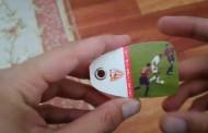 Vídeo: Librillo del centenario con cupones descuentos y el gol de Baptista al Osasuna, vía @colussokukleta