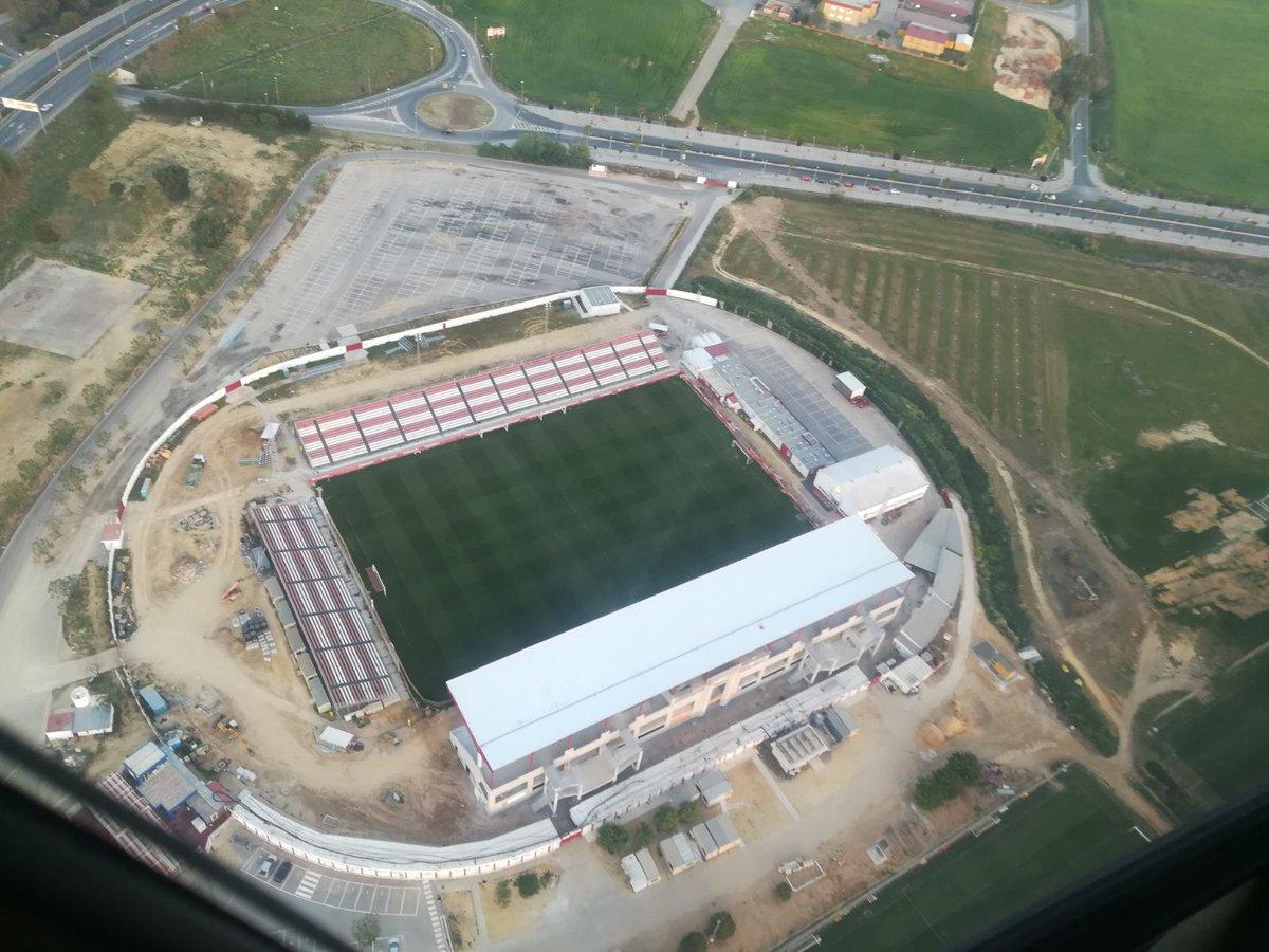 Fotos aéreas de la Ciudad Deportiva con el 'Viejo Nervión'