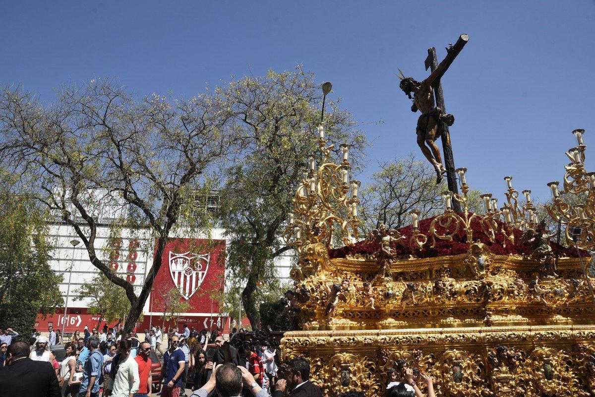 Audio: Himno del Sevilla FC versión marcha de Semana Santa