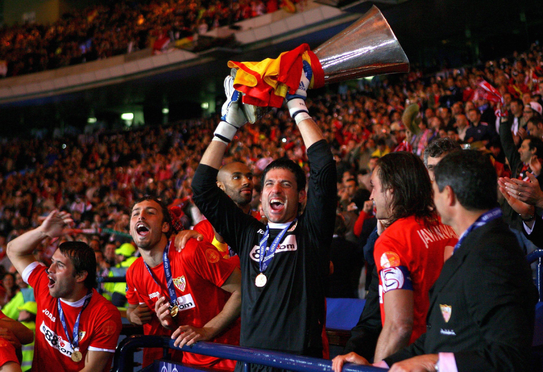 Palop: 'Al Sevilla le tienen un gran respeto en Europa, debe jugar con esa baza'