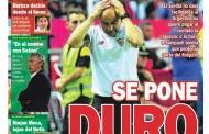 Portada ED - El Sevilla se pone duro con Sampaoli