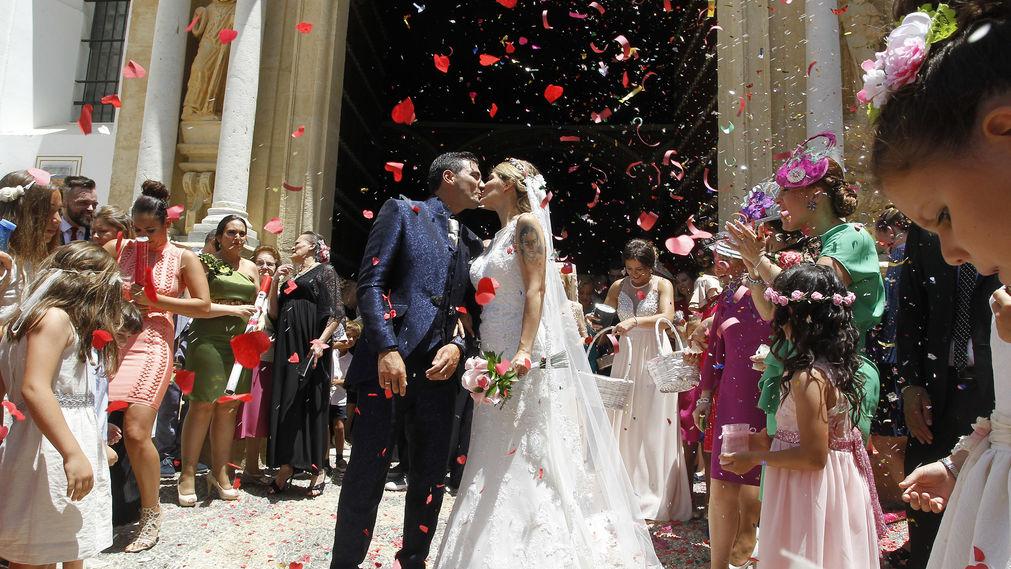 Foto: Reyes da el 'sí quiero' en Utrera