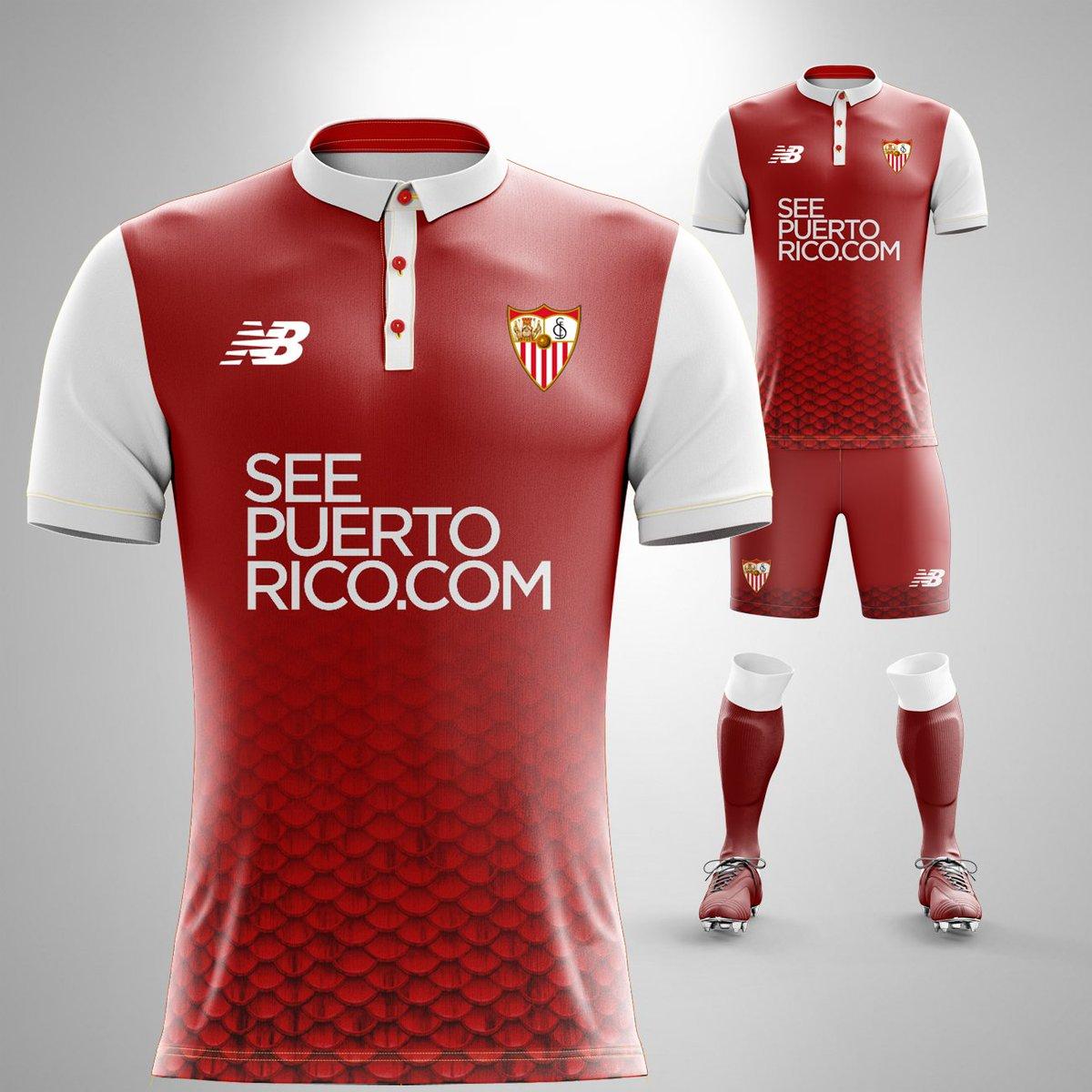 segunda equipacion Sevilla FC nuevo
