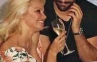 Las fotos de la cena íntima de Pamela Anderson con Rami