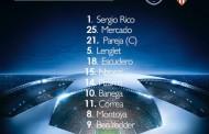 Once del Sevilla FC para la previa de la Champions