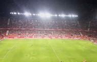 Vídeo: Himno del Sevilla FC con espectacular juego de luces