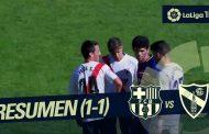 Vídeo: Resumen de Barcelona B 1-1 Sevilla Atlético