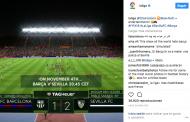 Vídeo: LaLiga simuló el Barça-Sevilla en el FIFA con un resultado sorprenderte