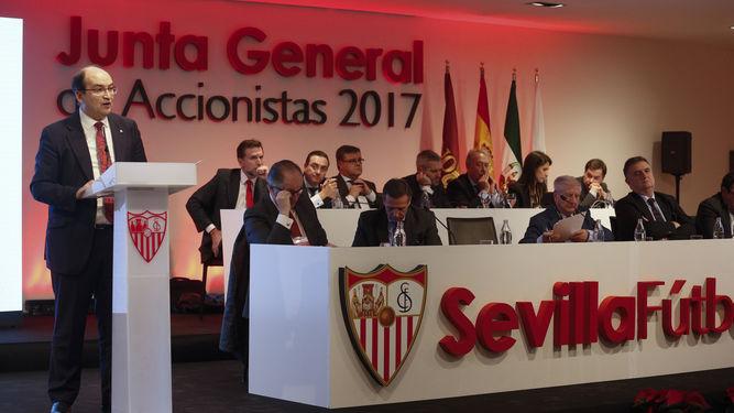 La mayor inversión en la historia del Sevilla se anunciará en la Junta de Accionistas