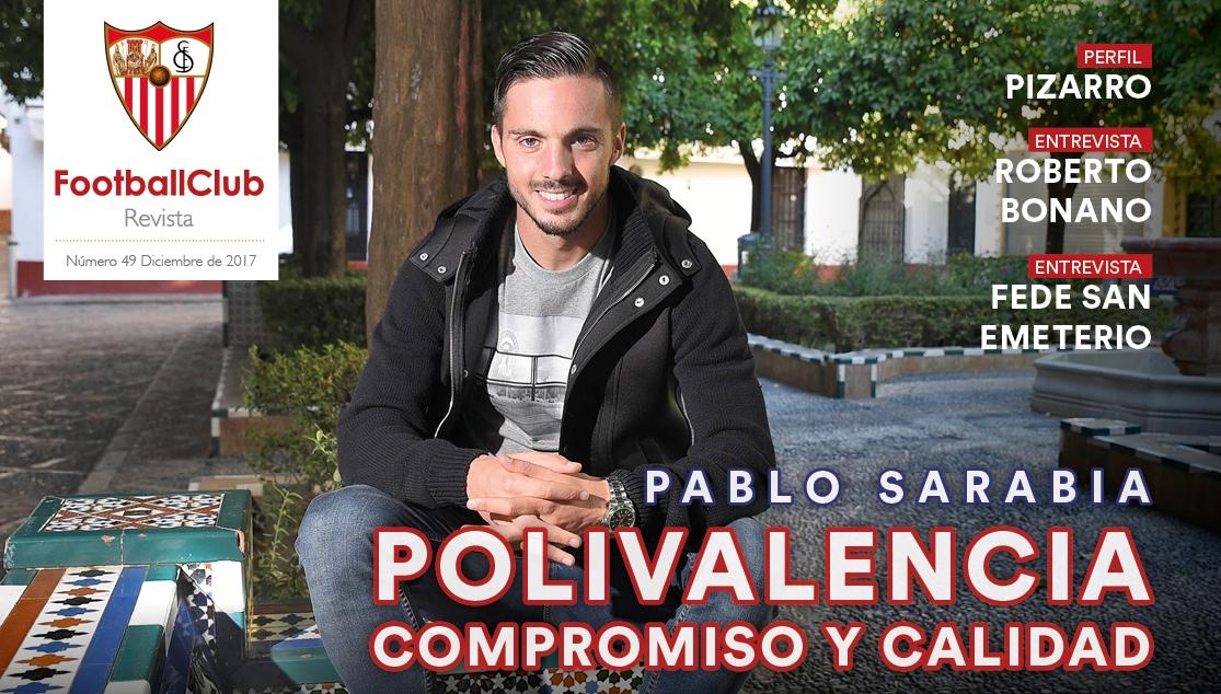 Ver revista FootballClub - Pablo Sarabia: Polivalencia, compromiso y calidad