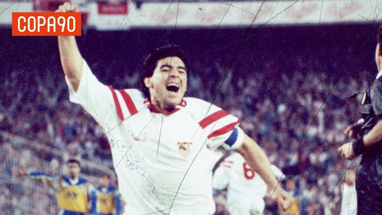 La monumental rajada de Maradona contra la directiva del Sevilla