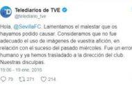 La disculpa de TVE con el Sevilla
