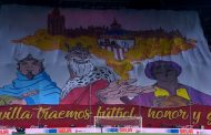 Foto: Tifo de Biris Norte 'Fútbol, Honor y Gloria'