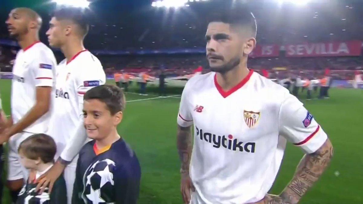 Los apercibidos de sanción en el Sevilla ante el United