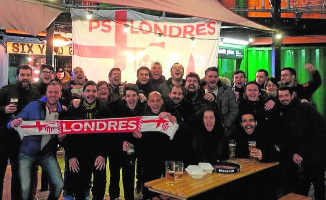 El Sevilla FC estará bien arropado en Old Trafford