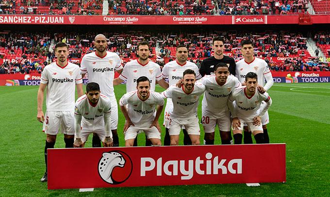 El posible once del Sevilla ante el Manchester
