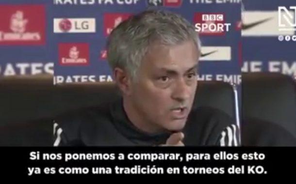 Vídeo: No te pierdas los elogios de Mourinho al Sevilla FC